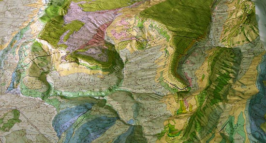 Terrain models applications natural science for Terrain chambery