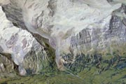 Relief of the Bernese Oberland